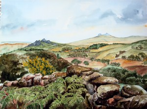 Hound Tor and Hay Tor
