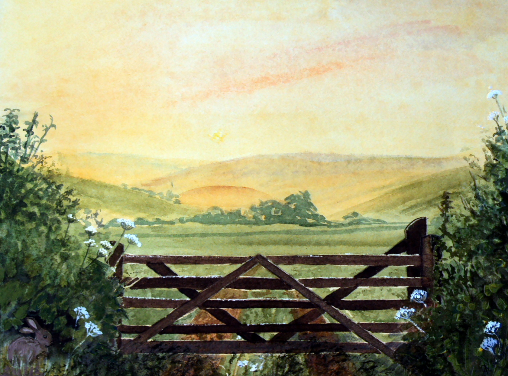 A Devon Gate